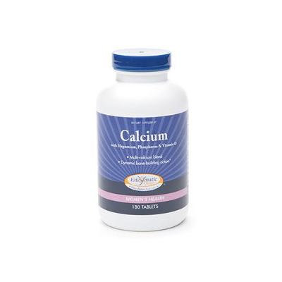 Enzymatic Therapy Calcium with Magnesium, Phosphorus & Vitamin D, Tablets 180 ea