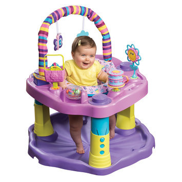Evenflo Exersaucer Bounce & Learn - Sweet Tea Party - 1 ct.