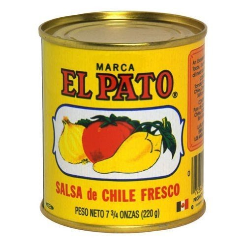 El Pato Hot Tomato Sauce, 7.75-Ounce (Pack of 24)
