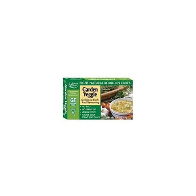 Edward & Sons Garden Veggie Bouillon Cubes 2.9 oz. (Pack of 24)