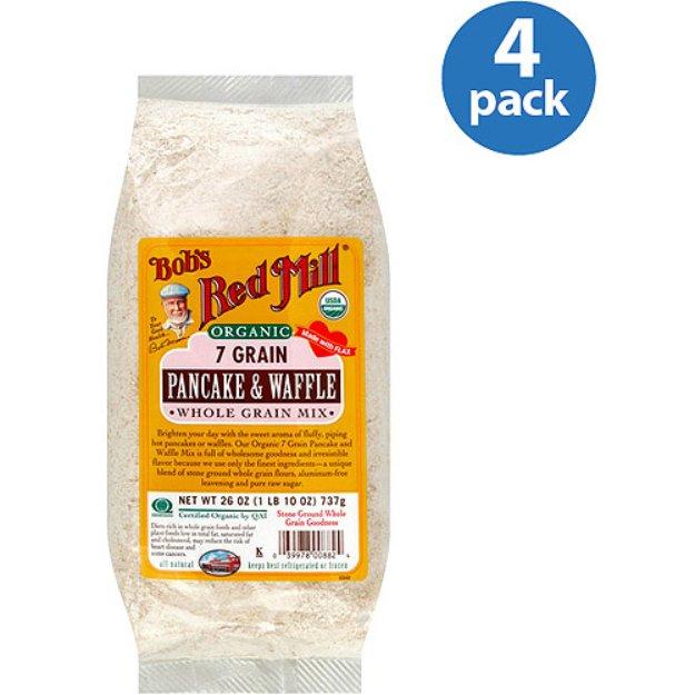 Bob's Red Mill Organic Pancake & Waffle Whole Grain Mix