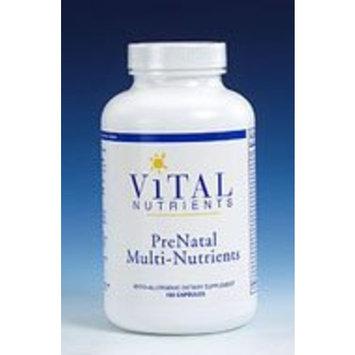 Vital Nutrients - PreNatal Multi-Nutrients 180 caps Health and Beauty