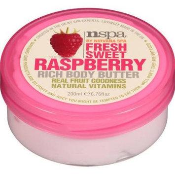 NSPA Fresh Sweet Raspberry Rich Body Butter, 6.76 fl oz