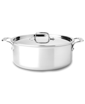 All Clad Stainless Steel 6 Qt Stock Pot