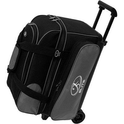 Elite Deuce Silver/Black Bowling Bag