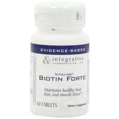Integrative Therapeutic's Integrative Therapeutics Biotin Forte, 60 Tablets