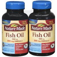 Nature Made Fish Oil Liquid Softgels Twin Pack, 180ct