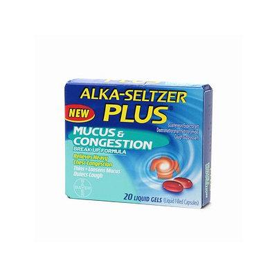 Alka-Seltzer Plus Mucus & Congestion Break Up Formula Liquid Gel