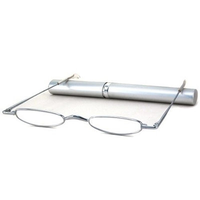Able Vision Reading Glasses - MT-1 Ultra-Thin Silver / MT-1 SILVER +1.00-MT1SILVER100