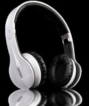 RHYTHMZ PRO HD On Ear Headphones (White)