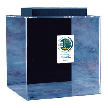 Clear-for-life Clear For Life Cube Aquarium Sapphire Blue, Size: 25-Gal (18W x 18D x 18H in.)