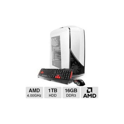 iBUYPOWER TD772 Gaming PC - AMD Vishera FX-8350 4.00GHz, 16GB DDR3 Memory, 120GB SSD, 1TB HDD, DVDRW, 3GB AMD Radeon R9