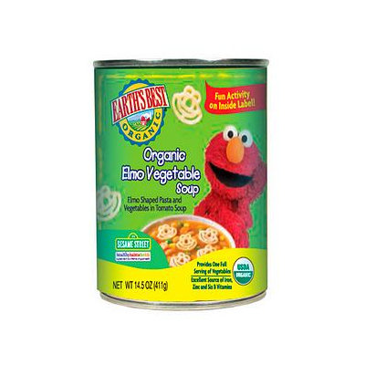 Earth's Best Sesame Street Organic Elmo Vegetable Soup