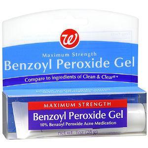 Walgreens Benzoyl Peroxide Acne Medication Gel Max Strength