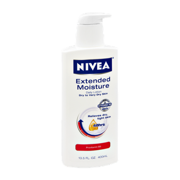 Nivea Extended Moisture Dry to Very Dry Skin Daily Lotion