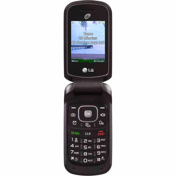 Tracfone Wireless Inc. TracFone LG 236C Flip Phone Black