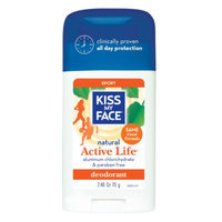 Kiss My Face Natural Active Life Aluminum Free Deodorant Stick