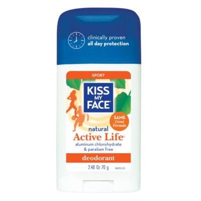 Kiss My Face Natural Active Life Aluminum Free Deodorant Stick