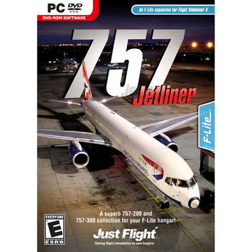 Just Flight 757 Jetliner - FLIGHT SIMULATOR EXPANSION PACK - Black