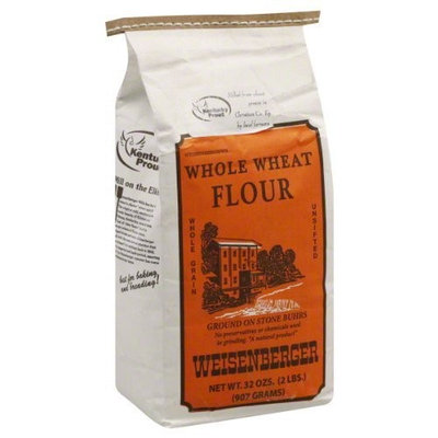 Weisenberger Whole Wheat Flour, 32-Ounce (Pack of 8)
