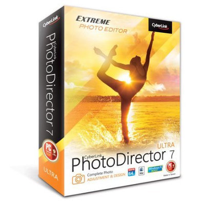 CyberLink PTD-0700-IWU0-00 PhotoDirector 7 Ultra (Email Delivery)