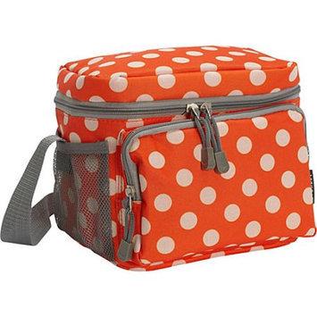 Everest Cooler/Lunch Bag Blue/White Dot - Everest Travel Coolers