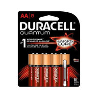 DURACELL Duracell Ultra Power Durablock Batteries, AA, 8/Pack