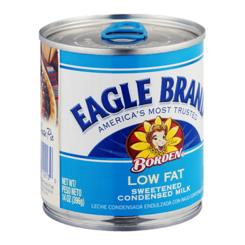 Eagle Brand Borden Low Fat Sweetened Condensed Milk