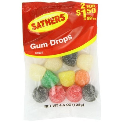 Farley's & Sathers Candy, Gum Drops, 4.5 Ounce (Pack of 12)
