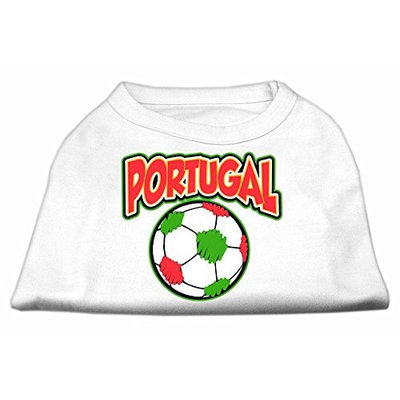 Ahi Portugal Soccer Screen Print Shirt White 5x (24)