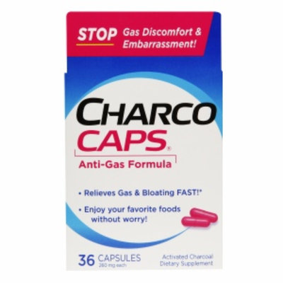 CharcoCaps Anti-Gas Formula Capsules