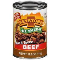 Keystone: Heat & Serve Beef, 14.50 oz