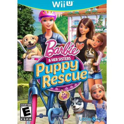 Little Orbit Barbie Puppy Rescue (Wii U) - Pre-Owned
