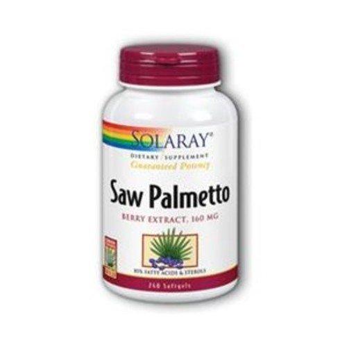 Solaray  Saw Palmetto Berries - 240 - Softgel [Health and Beauty]