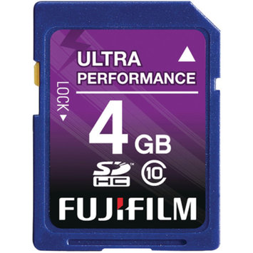 Fujifilm 600008928 4GB Class 10 Secure Digital High-Capacity Memory Card