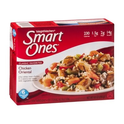 Weight Watchers Smart Ones Classic Favorites Chicken Oriental