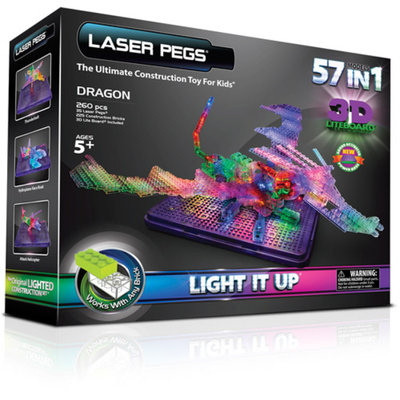 Laser Pegs 57-in-1 Dragon