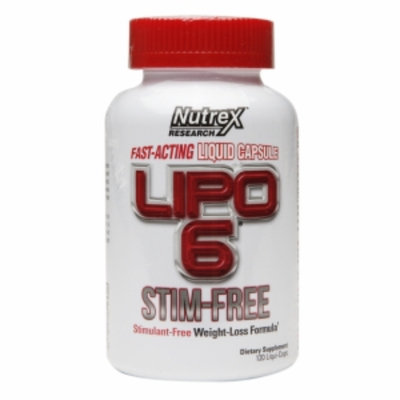 Nutrex Research Lipo-6 Stim-Free, Capsules, 120 ea