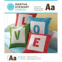 Plaid:craft Martha Stewart Crafts® Large Paper Stencils - Sans Serif Alphabet