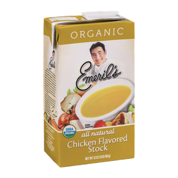 Emeril's Chicken Flavored Stock Organic