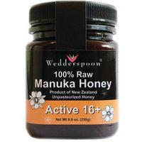 Wedderspoon Raw Manuka Honey Active 16+, 8.8 Ounce