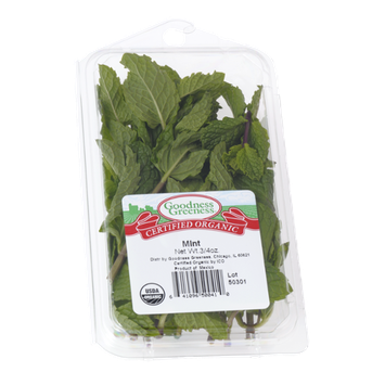 Goodness Greeness Mint Herbs - Organic