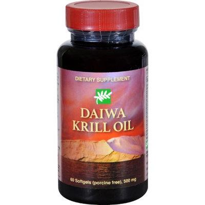 Daiwa Health Development - Daiwa Krill Oil 500 mg. - 60 Softgels