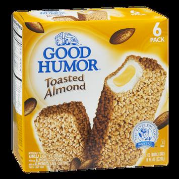 Good Humor Toasted Almond Ice Cream Bars - 6 CT