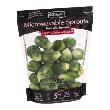 Ocean Mist Farms Microwavable Sprouts Brussels Sprouts
