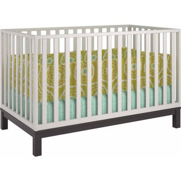 Standard Full-sized Crib White Brown by Cosco