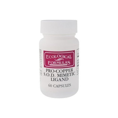 Cardiovascular Research - Pro-Copper S.O.D.Mimetic Ligand, 60 capsules