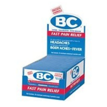 BC Powders BC Pain Reliever/Fever Reducer Powder, New Formula, 24-Count Packages (Pack of 6)
