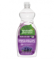 Seventh Generation Lavender Flower & Mint Natural Dish Liquid