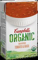 Campbell's® Organic Sun-Ripened Tomato & Basil Bisque